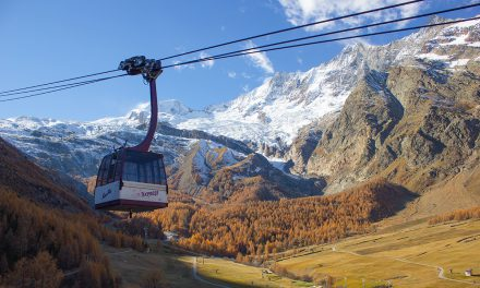 På ski i november: Saas-Fee