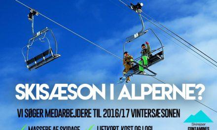 Skisæson i Alperne? Her er en god mulighed!