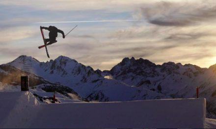 Danske freestyle skitalenter er landet i USA