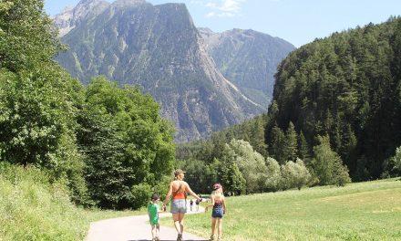 Sommerferie med børn i Ötztal Tirol
