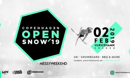Copenhagen Open SNOW '19: Ski og freestyle for alle!