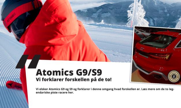 Sammenligning: Atomic Redster – S9 og G9