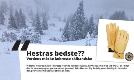 TEST: Verdens måske lækreste skihandske?
