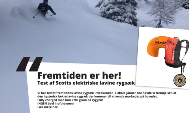 TEST: Scotts elektriske lavinerygsæk